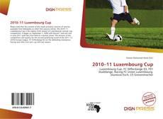 Borítókép a  2010–11 Luxembourg Cup - hoz