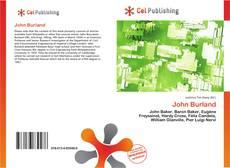 Bookcover of John Burland
