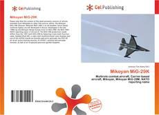 Mikoyan MiG-29K kitap kapağı