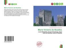 Couverture de Marie Victoire de Noailles