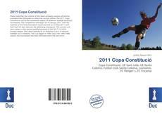 Bookcover of 2011 Copa Constitució