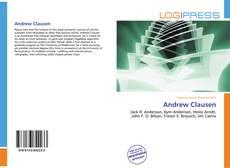 Buchcover von Andrew Clausen