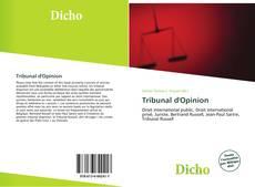 Borítókép a  Tribunal d'Opinion - hoz