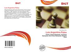 Bookcover of Luis Argentino Palau