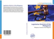 Bookcover of Legislative Districts of the Philippines