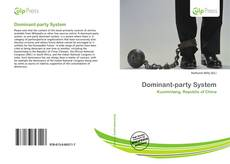 Bookcover of Dominant-party System