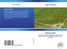 Capa do livro de Adauto Neto