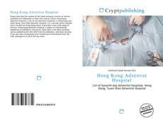 Bookcover of Hong Kong Adventist Hospital
