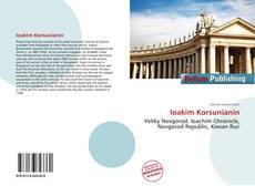 Buchcover von Ioakim Korsunianin