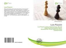 Portada del libro de Luis Piazzini