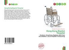 Portada del libro de Hong Kong Baptist Hospital