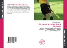 Couverture de 2010–11 Scottish Third Division