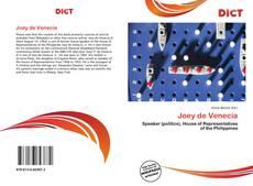 Bookcover of Joey de Venecia