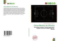 Portada del libro de César Martins de Oliveira