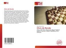 Chris de Ronde kitap kapağı