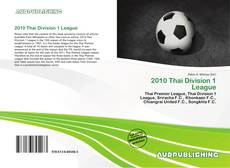 Capa do livro de 2010 Thai Division 1 League