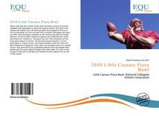 Capa do livro de 2010 Little Caesars Pizza Bowl