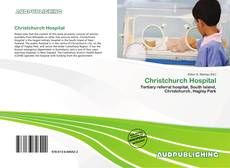 Capa do livro de Christchurch Hospital