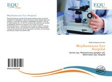Mojibunnessa Eye Hospital kitap kapağı
