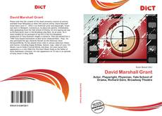 Bookcover of David Marshall Grant