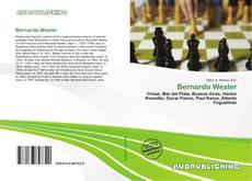 Buchcover von Bernardo Wexler