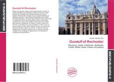 Portada del libro de Gundulf of Rochester