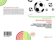 Bookcover of 2010 Sudan Premier League