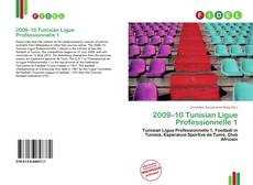 2009–10 Tunisian Ligue Professionnelle 1 kitap kapağı