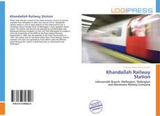 Bookcover of Khandallah Railway Station
