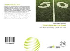 2007 New Mexico Bowl kitap kapağı