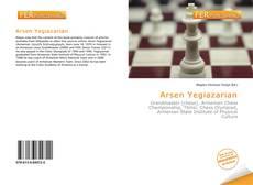 Arsen Yegiazarian kitap kapağı