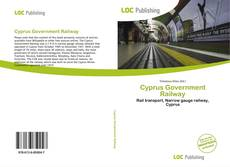 Bookcover of Cyprus Government Railway