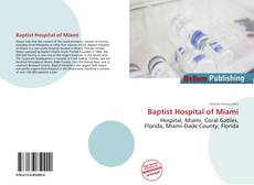 Bookcover of Baptist Hospital of Miami
