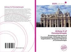 Обложка Antony II of Constantinople