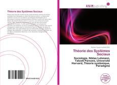 Bookcover of Théorie des Systèmes Sociaux
