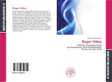 Bookcover of Roger Vittoz