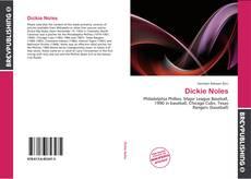 Dickie Noles kitap kapağı