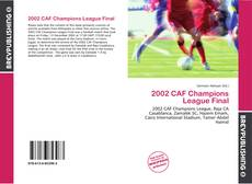 Bookcover of 2002 CAF Champions League Final