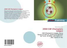 Capa do livro de 2000 CAF Champions League