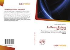 2nd Panzer Division (Germany) kitap kapağı