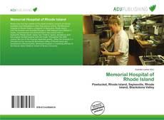 Bookcover of Memorial Hospital of Rhode Island