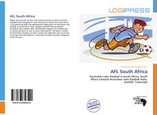 Bookcover of AFL South Africa