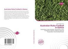 Обложка Australian Rules Football in Samoa