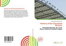 Portada del libro de History of the Cleveland Browns