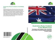 Buchcover von Australian Rules Football in the Middle East