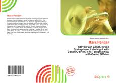 Bookcover of Mark Pender