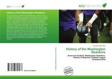 Capa do livro de History of the Washington Redskins