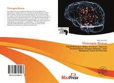 Bookcover of Thérapie Brève