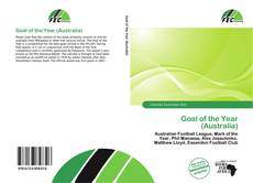Bookcover of Goal of the Year (Australia)
