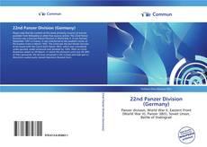 22nd Panzer Division (Germany) kitap kapağı
